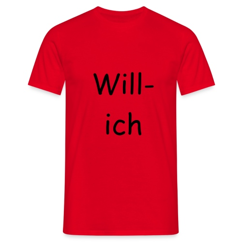 T-shirt Willich - Männer T-Shirt