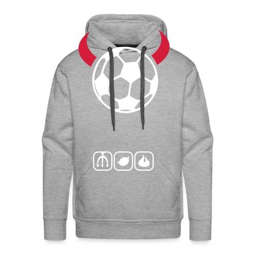 devil of footy hoodie - Men's Premium Hoodie