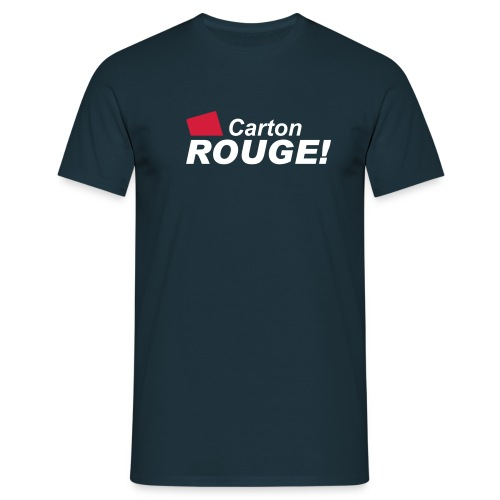 Tee shirt Carton Rouge - T-shirt Homme