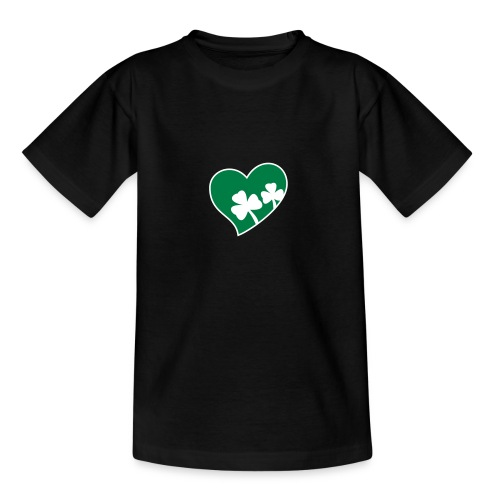 Children's Ireland Centred Heart T-Shirt - Teenage T-Shirt