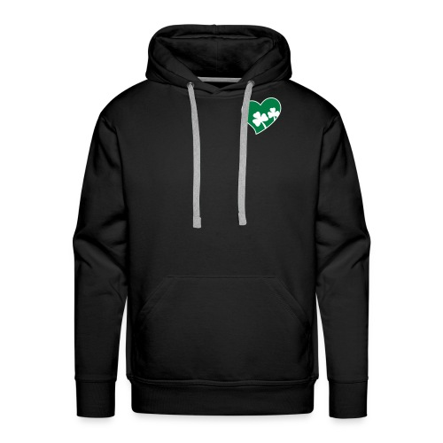 Men's Ireland Heart Hooded Sweatshirt - Men's Premium Hoodie