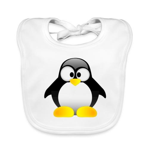Bavoir Romain le petit pingouin - Bavoir bio Bébé