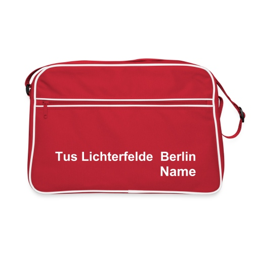 TusLi Trainingstasche - Retro Tasche