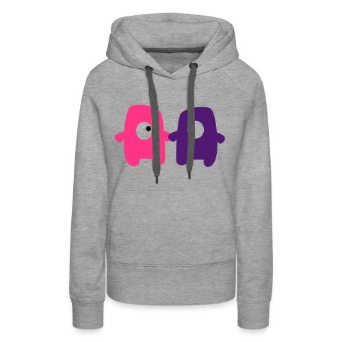 Monsters in love - hoodie - Women's Premium Hoodie