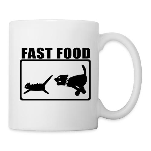 Tasse - Fast Food rechts - Tasse