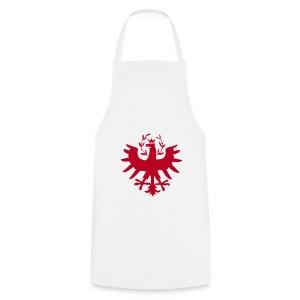 Tiroleradler Schürze Weiß - Kochschürze