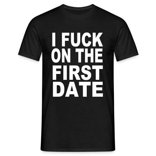first date - T-shirt herr