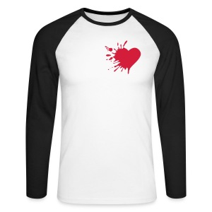 lhurt explosion - Men's Long Sleeve Baseball T-Shirt