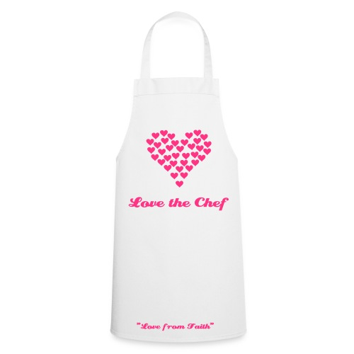 Love the Chef Apron - Cooking Apron