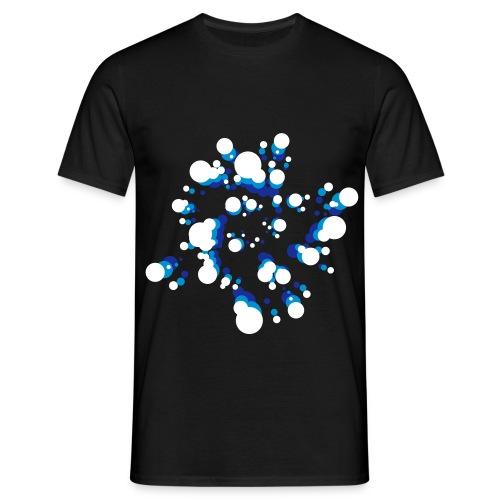 Bulles Psychédéliques fluo - T-shirt Homme