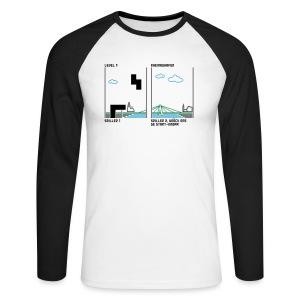 Koelntris - Männer Baseballshirt langarm