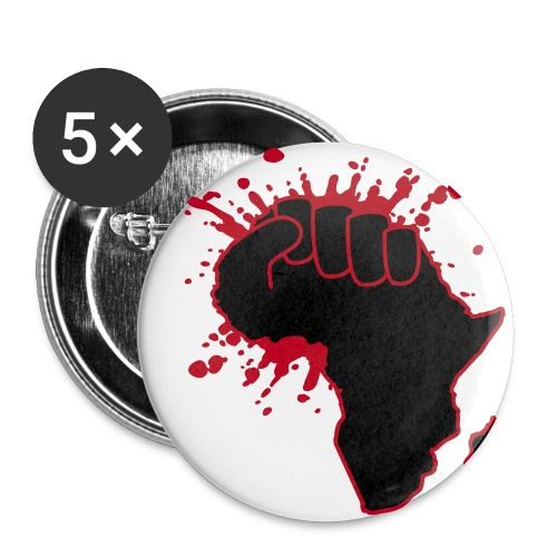 Blackpeace - Buttons/Badges stor, 56 mm (5-pack)