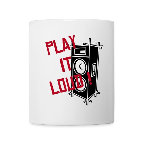 PLAY IT LOUD ! (mug) - Mug blanc