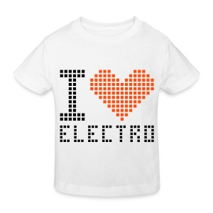 I love elctronic - T-shirt bio Enfant
