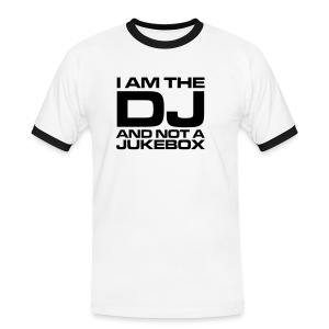 CAMISETA BLANCA I AM THE DJ - Camiseta contraste hombre