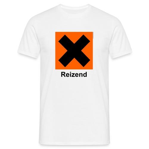 Comfort T (Reizend, weiß) - Männer T-Shirt