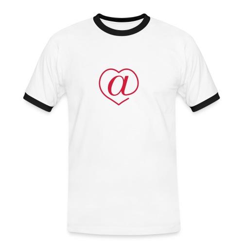 Arroba Love - Camiseta contraste hombre