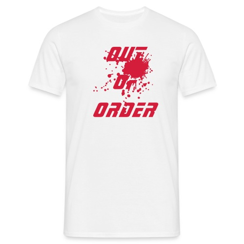Out Of Order Bloodstain - Mannen T-shirt