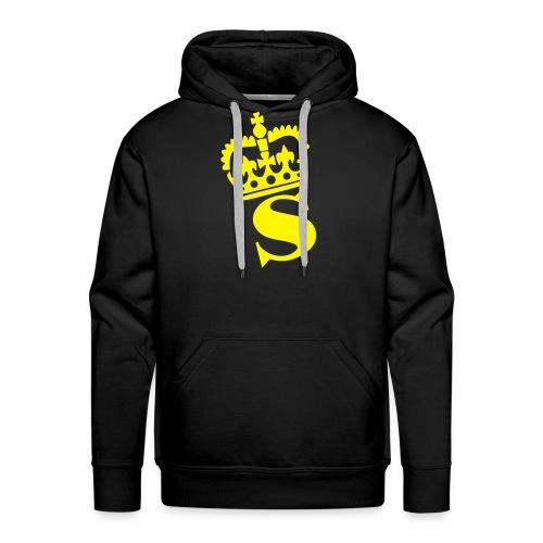 S Crown - Herre Premium hættetrøje