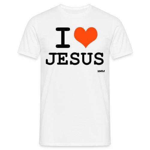 Jesus - Mannen T-shirt