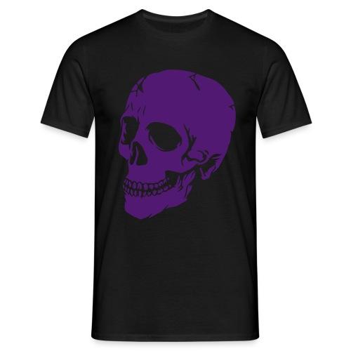 Rave skull - Maglietta da uomo