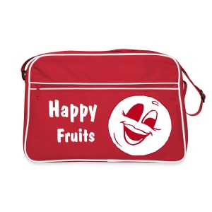 happy fruits Kirsche - Retro Tasche