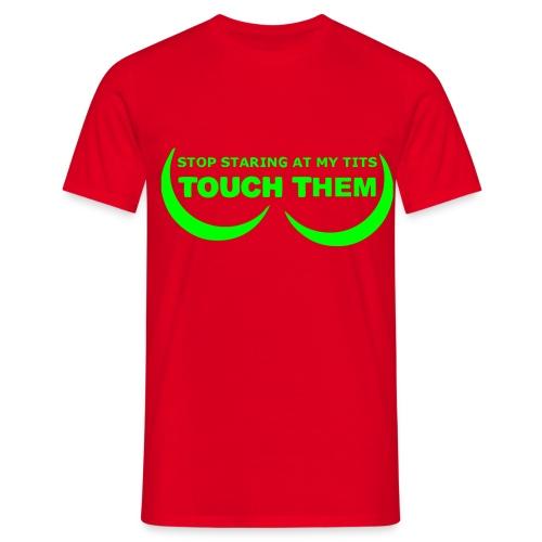 touch'em - T-skjorte for menn