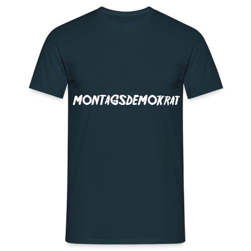 Sei politisch! - Männer T-Shirt