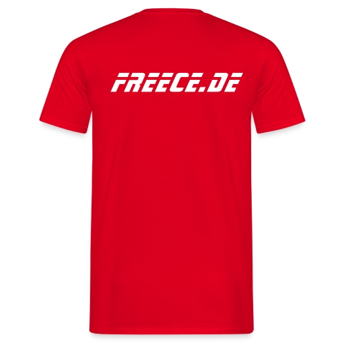 Shirt Freece red - Männer T-Shirt