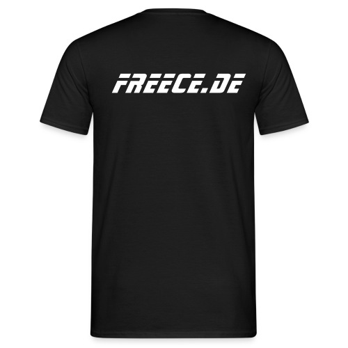 Shirt Freece black - Männer T-Shirt