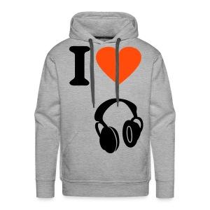 i love music - Mannen Premium hoodie