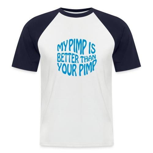 Pimp - Kortærmet herre-baseballshirt