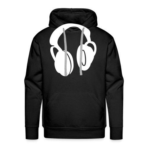 Headphones - Felpa con cappuccio premium da uomo