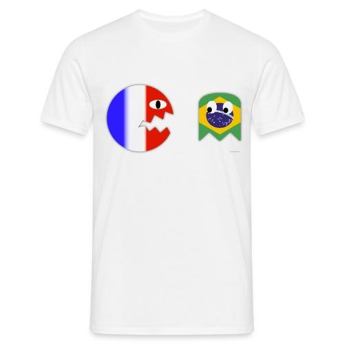 France - Brésil - T-shirt Homme