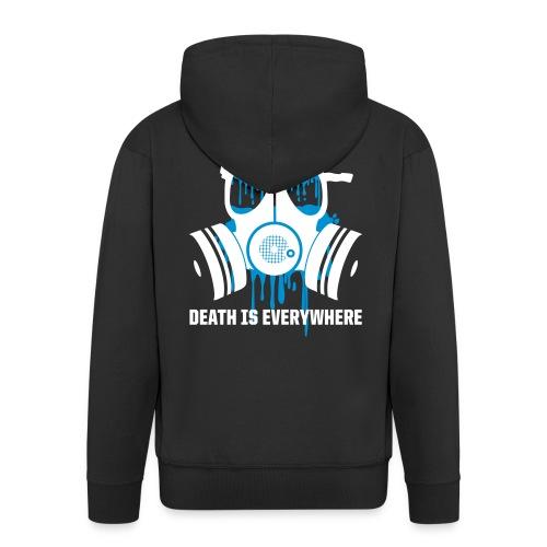 Death is everywhere - Men's Premium Hooded Jacket