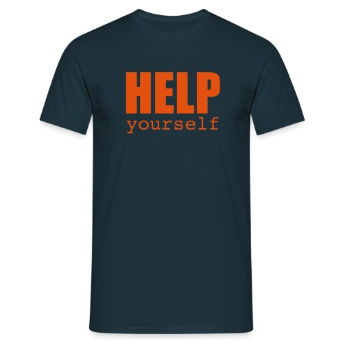 HELP yourself - Men's T-Shirt