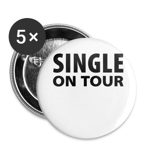 Anstecker Single on Tour - Buttons mittel 32 mm