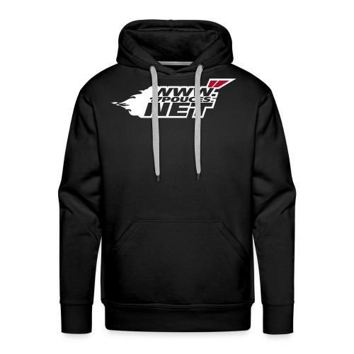 Sweat capuche Pseudo 2007 - noir - Sweat-shirt à capuche Premium pour hommes