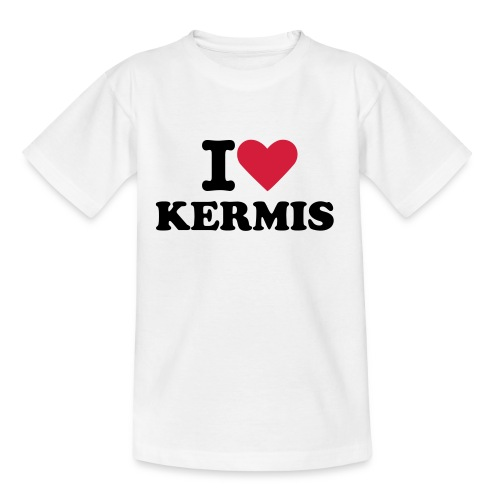 Teenager T-shirt - I love kermis