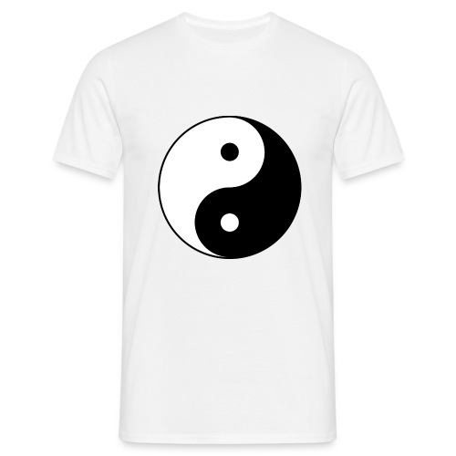 Yin and Yang a00006 - Men's T-Shirt