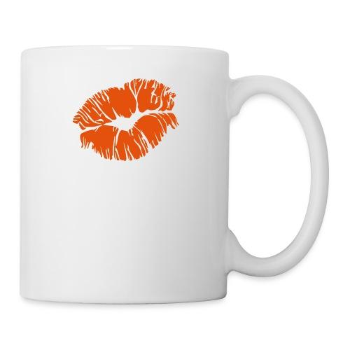 kiss - Mug blanc