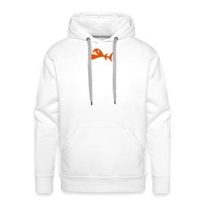 Kampf Fisch Kapuzenjacke - Männer Premium Hoodie