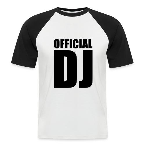 DJ - Männer Baseball-T-Shirt