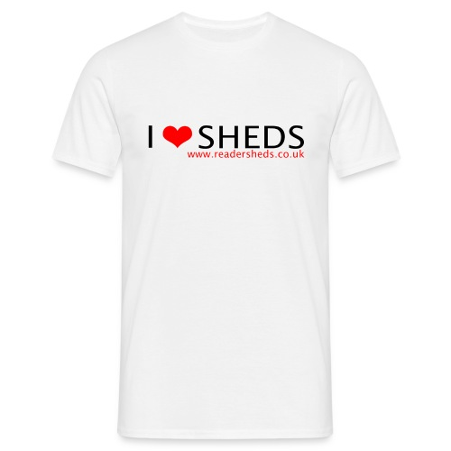 I love sheds - old logo - Men's T-Shirt