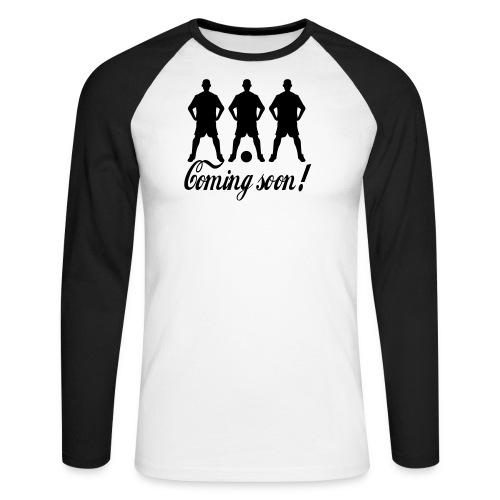 sp1 - Men's Long Sleeve Baseball T-Shirt