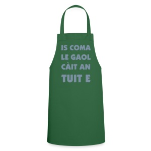 Gaol Apron - Green/White/Silver - Cooking Apron