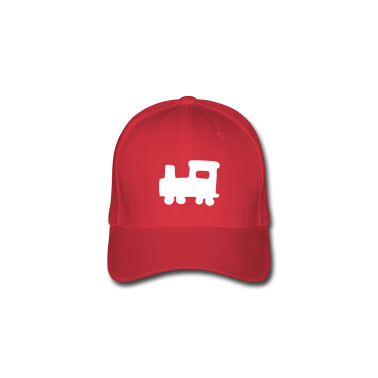 Red train Caps & Hats