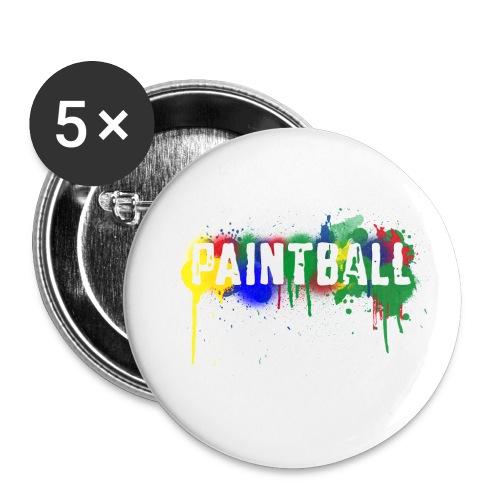 her har du pin  som du kan sette på bagger osv - Liten pin 25 mm (5-er pakke)