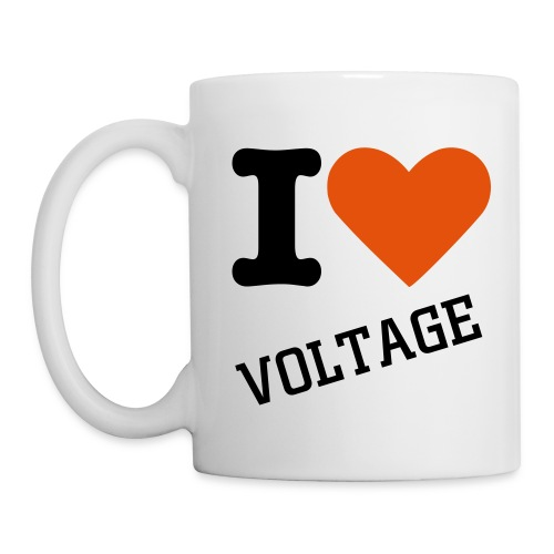 I love Voltage coffee cup - Muki