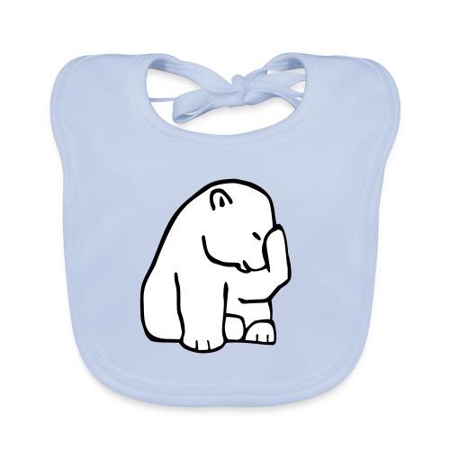 Eisbär - Baby Bio-Lätzchen